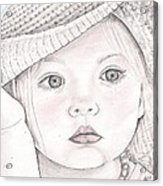 Innocence  Acrylic Print by Beverly Marshall