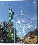 Innovation As Reflection Of Human Liberty Acrylic Print