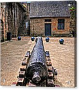 Inside A French Fort Acrylic Print