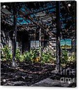 Inside An Abandon Building Acrylic Print