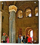 Inside Church Of Saint Nicholas In Myra-turkey Acrylic Print