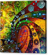 Inside Consciousness  Acrylic Print