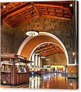 Inside Los Angeles Union Station Acrylic Print
