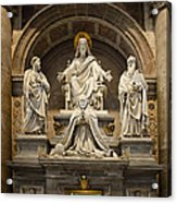 Inside St Peters Basiclica - Vatican Rome Acrylic Print