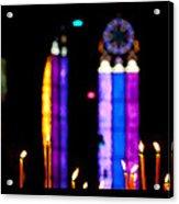 Inside Stefan Cathedral Acrylic Print by Viacheslav Savitskiy