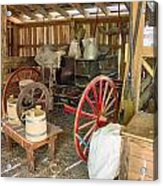 Inside The Barn Acrylic Print