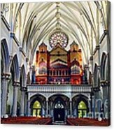 Inside The Cathedral  Acrylic Print
