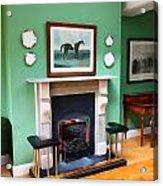 Inside The Manor Acrylic Print
