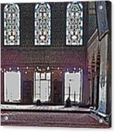 Inside The Mosque Acrylic Print