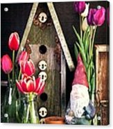 Inside The Potting Shed Acrylic Print