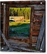 Inside The Shed Acrylic Print