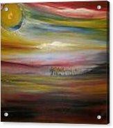 Inside The Sunset Acrylic Print