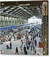 Inside Train Station, Nice, France Acrylic Print