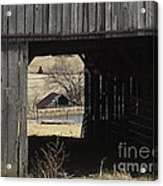 Barn - Kentucky - Inside Treasure Acrylic Print