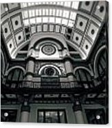 Inside Union Station Acrylic Print