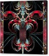 Inside Your Beautiful Heart Acrylic Print