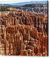 Inspiration Point Bryce Canyon Acrylic Print