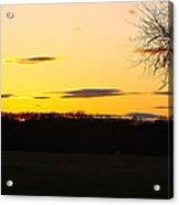 Inspirational Sunset  Acrylic Print
