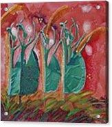 Inspired Dance Acrylic Print