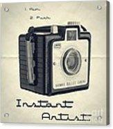 Instant Artist Acrylic Print