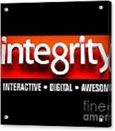 Integrity Acrylic Print