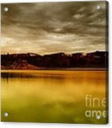 Intenisty In The Clouds  Acrylic Print