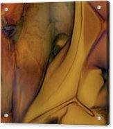 Intensity In Glass Acrylic Print