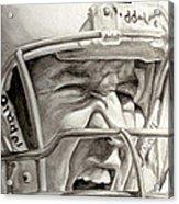 Intensity Peyton Manning Acrylic Print
