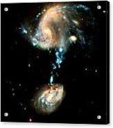 Interacting Galaxies Group Arp 194 Acrylic Print
