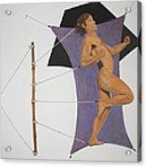 Intercepted Seven Figures In Limbo Acrylic Print