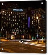 Intercontinental Hotel Acrylic Print