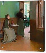 Interior Of A Cafe Acrylic Print