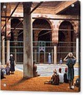 Interior Of A Mosque Acrylic Print