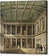 Interior Of Concert Room, From Bath Acrylic Print