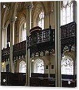 Interior Of The Chapel Royal - Dublin Castle Acrylic Print