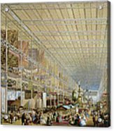 Interior Of The Great Exhibition Of All Acrylic Print