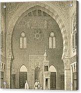 Interior Of The Mosque Of Qaitbay, Cairo Acrylic Print