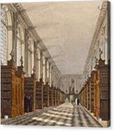 Interior Of Trinity College Library Acrylic Print