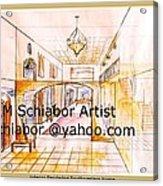 Interior Perspective Acrylic Print