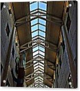 Interior Skylight Acrylic Print