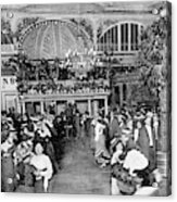 Interior View Of The Moulin De  La Acrylic Print