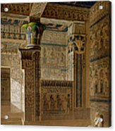 Interior View Of The West Temple Acrylic Print by Le Pere