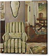 Interior With Chair Acrylic Print