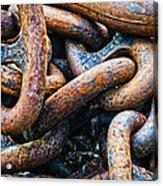 Interlocked Acrylic Print by Christi Kraft