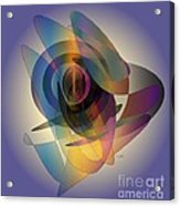 Interlocking  Circles Acrylic Print