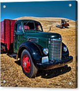 International Farm Truck Acrylic Print
