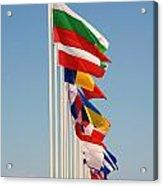 International Flags Nisyros Acrylic Print