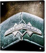International Grille Emblem -0741ac Acrylic Print