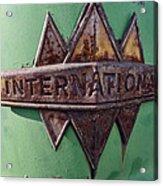 International Harvester Insignia Acrylic Print