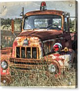 International Harvester Acrylic Print by Tracy Munson